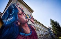 Scoala pictata in Sibiu