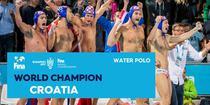 Nationala masculina de polo a Croatiei, campioana mondiala