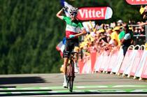 Fabio Aru, castigatorul etapei a cincea din Turul Frantei
