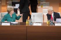 Angela Merkel si Donald Trump la G20