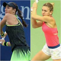 Simona Halep&Caroline Garcia