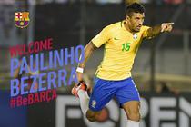 Paulinho, noul jucator al Barcelonei