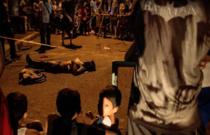 Suspectii de trafic de droguri, ucisi pe banda rulanta in Filipine