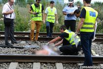 Accident grav de tren (foto arhiva)