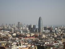 Panorama a Barcelonei