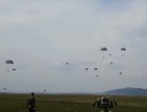 Exercitii militare de parasutare
