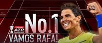 Rafael Nadal, din nou pe prima pozitie ATP