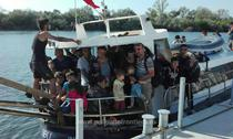 Migranti prinsi in Marea Neagra