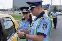 Taximetristi verificati de politie