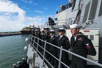 USS Porter a sosit in Romania