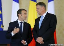 Emmanuel Macron si Klaus Iohannis, la Cotroceni