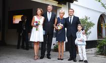 Iohannis si Macron, la Muzeul Satului