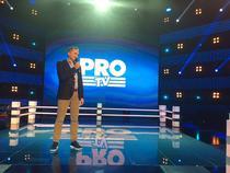 Cesnavicius, ultima data alaturi de vechiul logo Pro TV