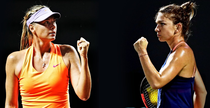 Sharapova vs Halep