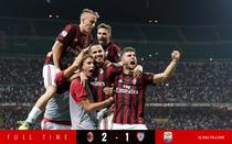Milan, victorie la limita cu Cagliari