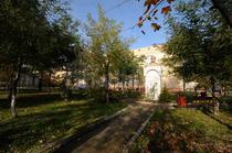 Parcul din curtea Scolii nr. 9 din Suceava
