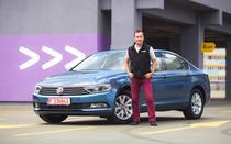 Volkswagen Passat 1.6 TDI Advance si Adrian Mitrea