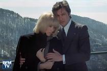 Mireille Darc si Alain Delon