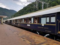 Orient Express in gara din Sinaia
