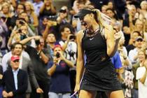 Maria Sharapova, la US Open