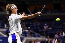 Alexander Zverev, la US Open