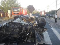 Accident grav pe un drum national