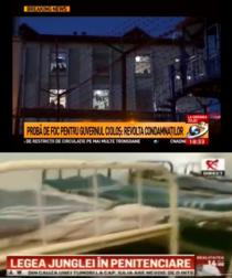 Antena 3 si Realitatea TV despre conditiile din penitenciare
