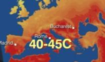 Temperaturi foarte ridicate in Europa