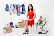 Mia Karimzadeh fondatoarea site-ului pentru bebelusi