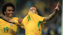 Philippe Coutinho, gol pentru Brazilia
