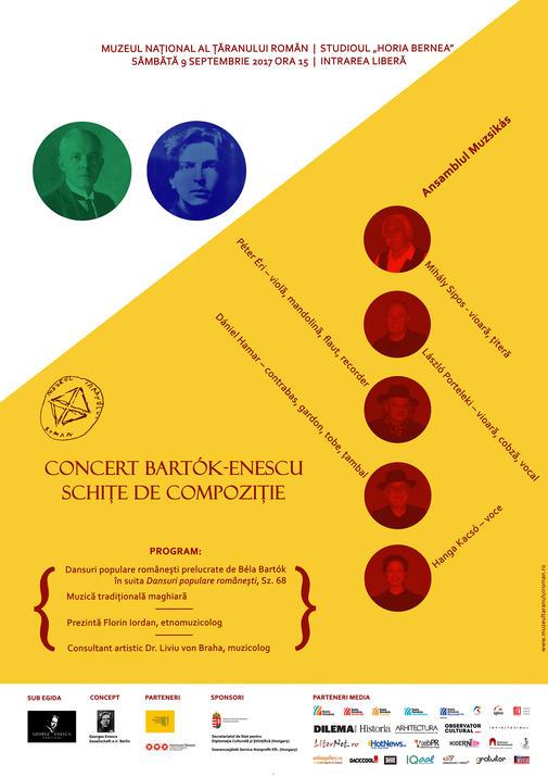 Afis Bartok - Enescu