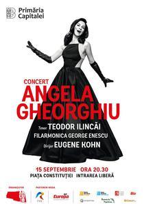 Concert Extraordinar Angela Gheorghiu pe 15 septembrie