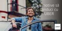 5 motive sa conduci cu UBER