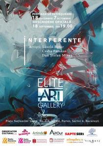 Expozitia 'Interferente'