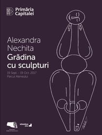 Alexandra Nechita: Gradina cu sculpturi