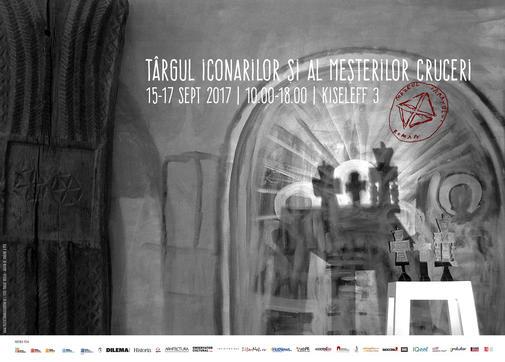 Afis Targul iconarilor 2017