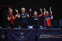 Echipa feminina de tenis de masa a Romaniei