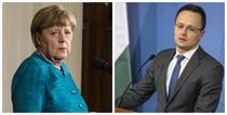 Angela Merkel si Peter Szijjarto