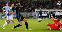 Gareth Bale, gol superb in meciul cu Real Sociedad
