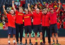 Belgia, in finala Cupei Davis