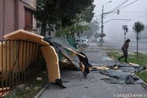 Urmarile furtunii de la Timisoara