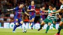 Lionel Messi, patru goluri contra lui Eibar