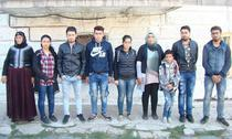 Sirieni care au trecut ilegal Dunarea in Romania