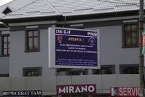 Mesaje de avertizare in Bucuresti