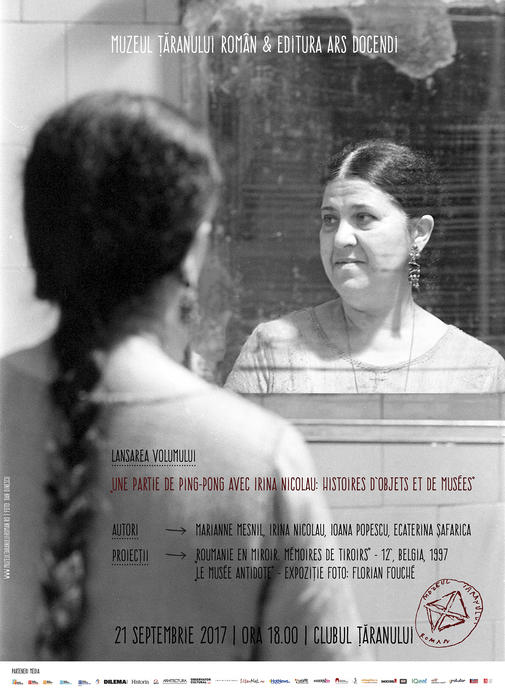 Afis lansare carte Irina Nicolau