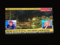 Romania TV despre furtuna din Bucuresti