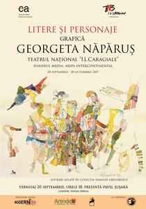Litere si Personaje - Georgeta Naparus