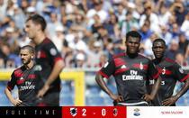 AC Milan, invinsa de Sampdoria