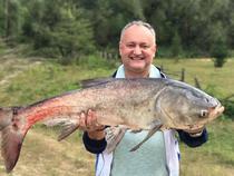 Igor Dodon la pescuit