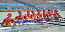 Echipajul feminin de 8+1 al Romaniei